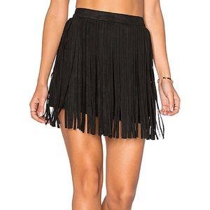 BB Dakota Barton Fringe Skirt